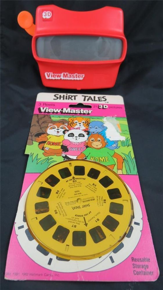 Shirt Tales 3D View-Master 3 Reel Set Made in USA