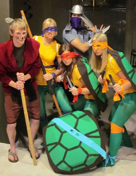 Tmnt group costumes