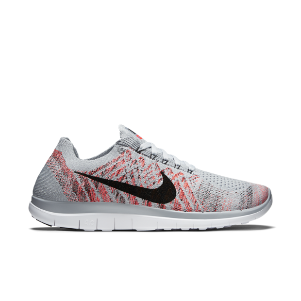 02d3e9717c99 Wolf Grey Hyper Orange White Black Size 8! Running Shoes NikeWomen ...