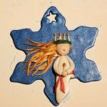 Lucia ornament (finnish tutorial) - polyclay by kvj