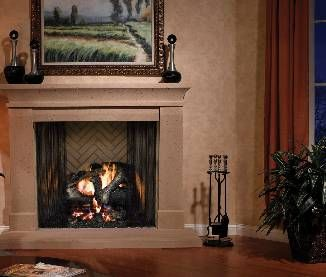 Heatilator Birmingham Wood Fireplace Classic Comfy Pinterest