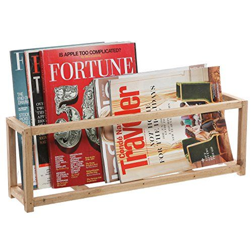 Natural Unfinished Wood Organizer Box / Free Standing Magazine & Notebook Open Crate Rack - MyGift® Home MyGift http://www.amazon.com/dp/B00WS4HEG4/ref=cm_sw_r_pi_dp_BJDdwb0X1CYRC