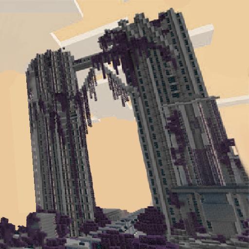 Apocalyptic City Survival Maps For Minecraft Pe майнкрафт