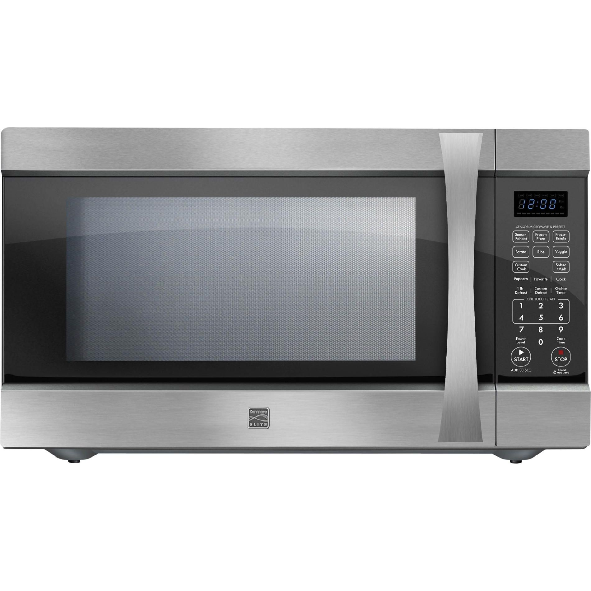 Countertop Microwave W Extra Large Capacity Stainless Steel
