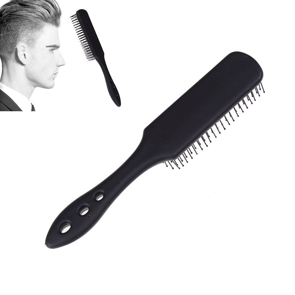 Lwestine 1pc Mens Hair Brush Hairdressing Scalp Massager Comb Airbag Hair Styling Tools Handcraft Anti Static 8 Row Hai Mens Hair Brush Hair Tools Hair Brush