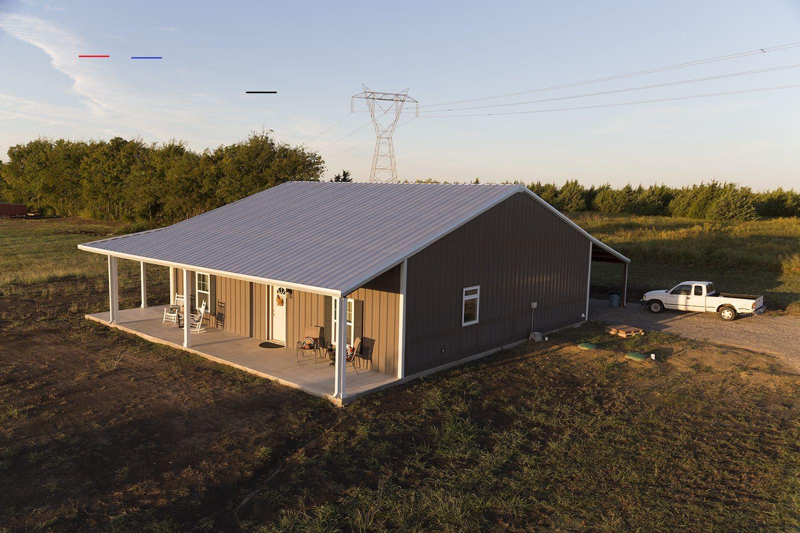 metalbuildinghomes in 2020 Metal building house plans