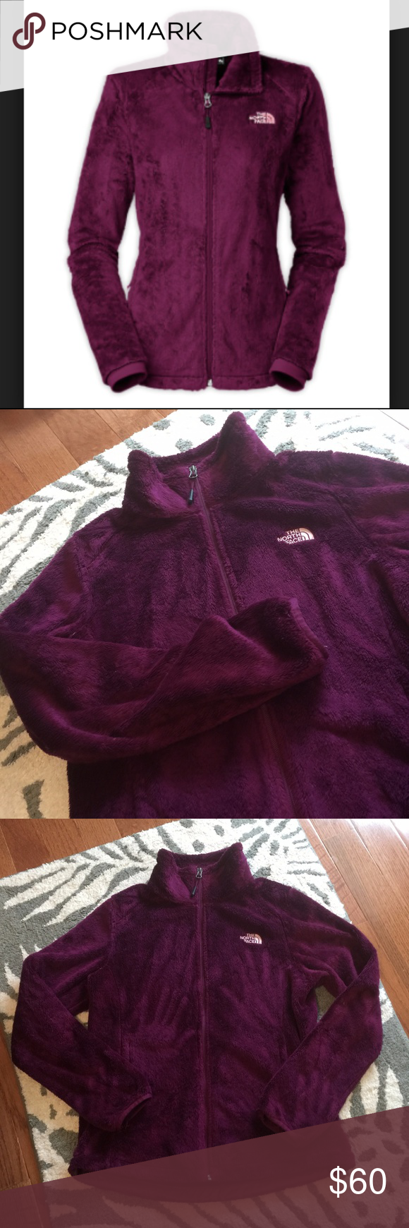 The North Face Osito Jacket In Parlour Purple Clothes Design Fashion Design The North Face [ 1740 x 580 Pixel ]