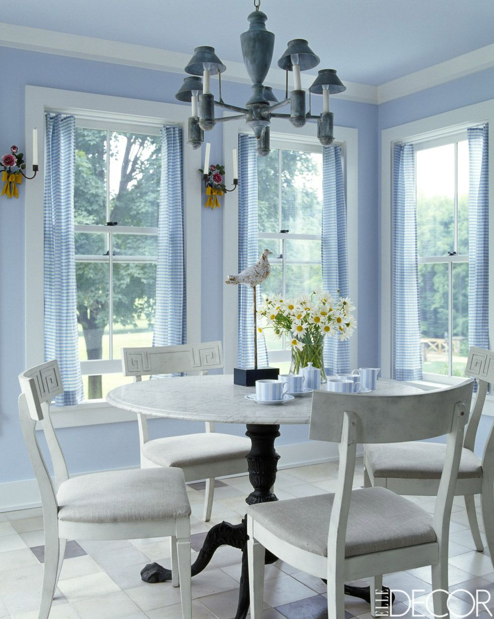9 Rooms That Prove Blue And White Make The Perfect Pair | Marble top ...