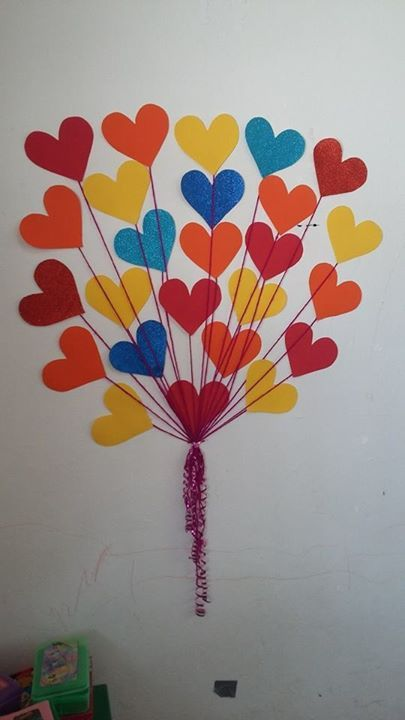 Decoracion dia del amor y dela amistad 11 vida for Decoracion navidena manualidades