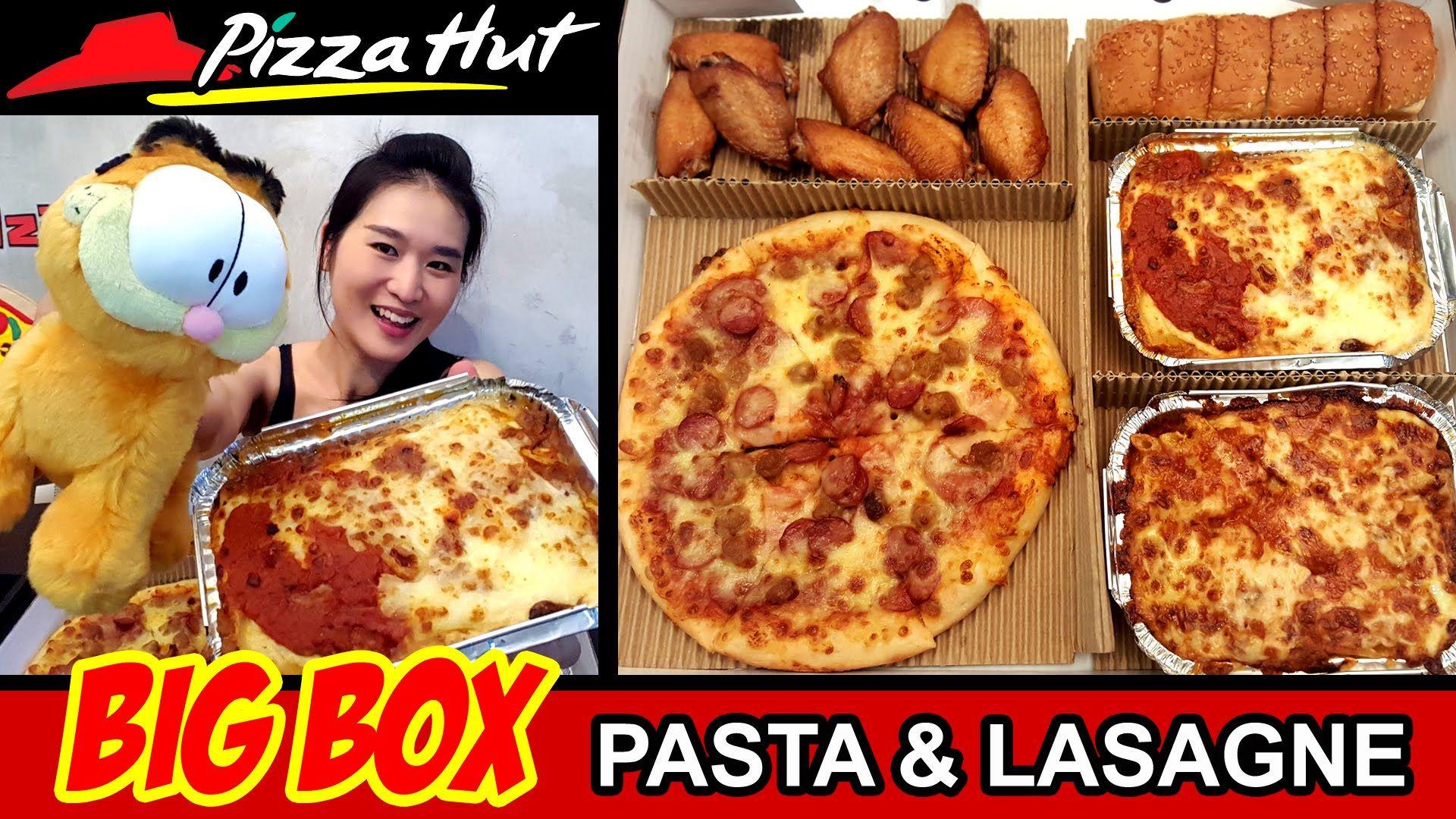 PIZZA HUT BIG BOX (Eating Show - Mukbang) Peggie Eats S02E14