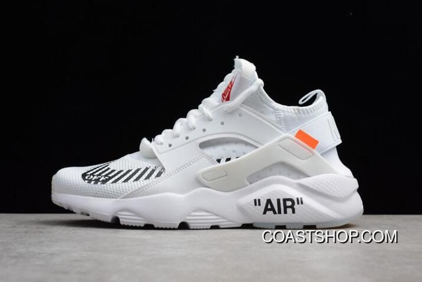 """Uomo And Off Donna Off And bianca X Nike Air Huarache Ultra """"bianca"""" Top   e07532"""