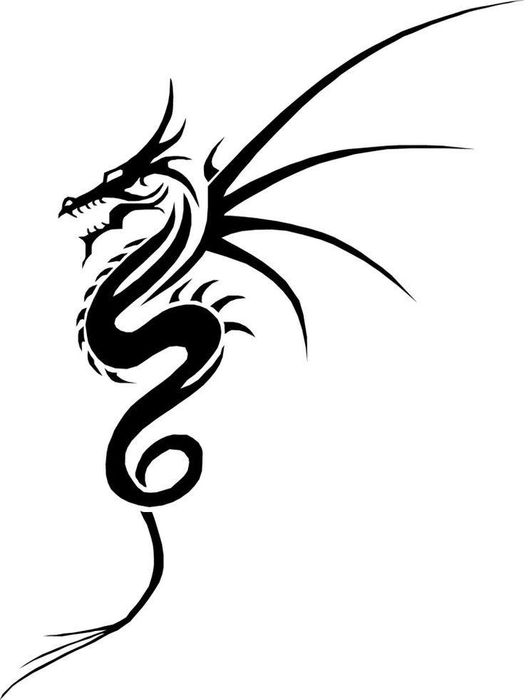 Photo of Tribal Dragon Tattoo Design-Ideen, #design #Dragon #ideas #tattoo #Tribal #tribaldragontatto …
