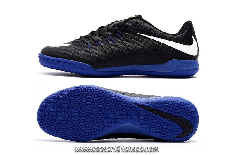 bd772879b coupon code for nike mens hypervenomx finale ic indoor football soccer  shoes black blue sole 73.00