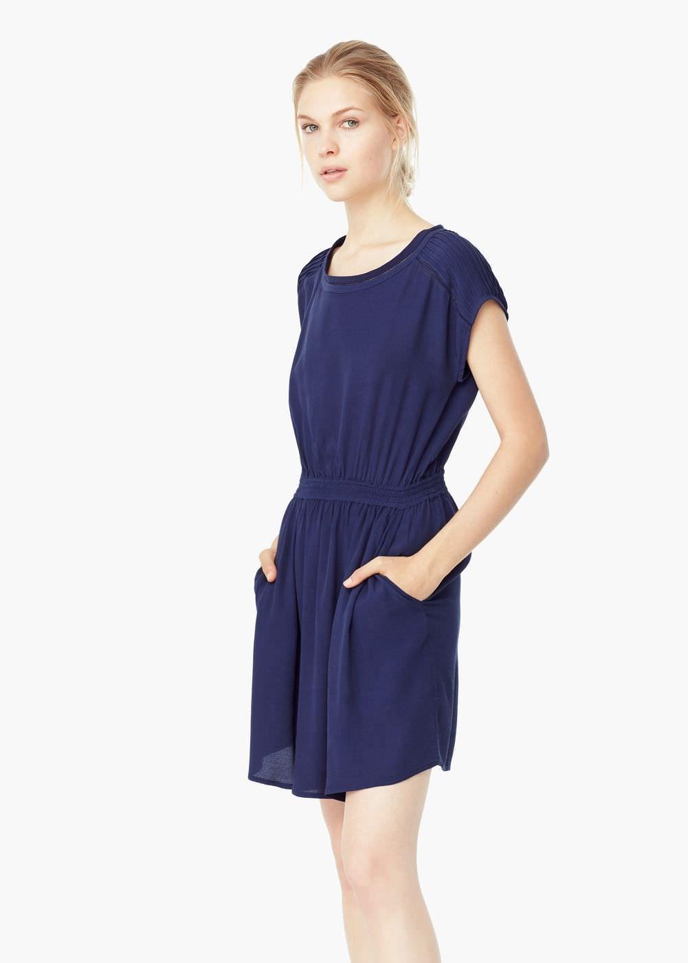Vestito bordo traforato - Vestiti da Donna  91b75a4f7c4
