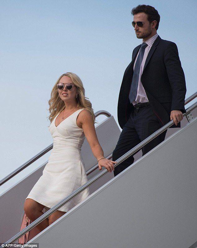 Tiffany Trump Brings Her Boyfriend To Easter Celebration