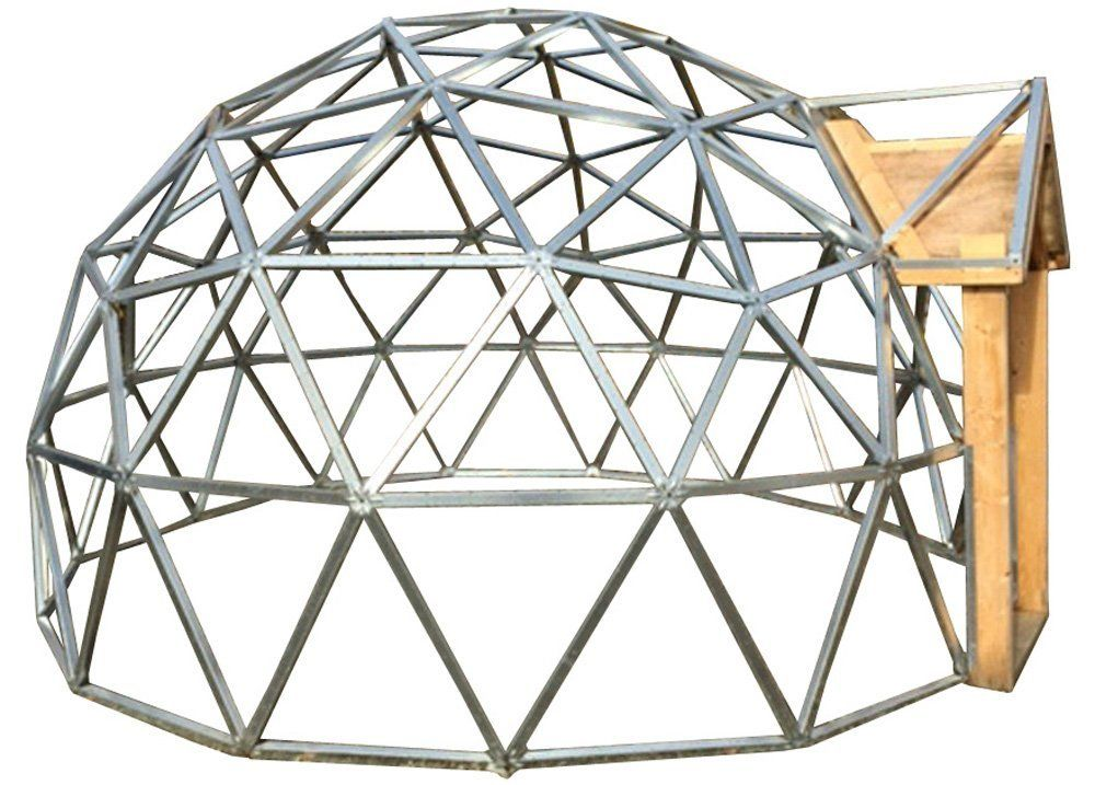 Amazon.com : 18 Foot Diameter Geodesic Dome Frame Kit : Patio, Lawn ...