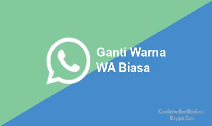 Pin Di Cara Mengganti Tema Whatsapp Tanpa Aplikasi