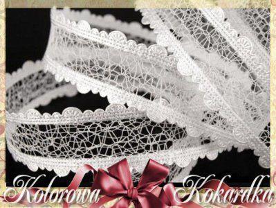 Wstazka Azurowa Pajeczynka Z Falbanka 25 Mm Biala 4971084584 Oficjalne Archiwum Allegro Crown Jewelry Crown Jewelry