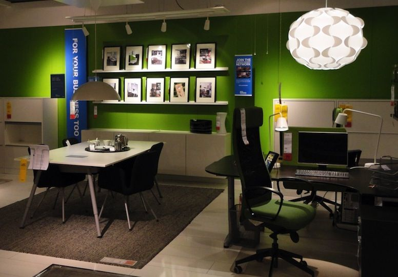 Ikea Business Office Design Idea Basement Pinterest Startup