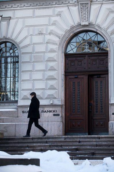 Finnish central bank, Helsinki, Finland