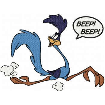 Road Runner Cartoons Machine Embroidery Design For Instant Download Classic Cartoon Characters Road Runner Classic Cartoons