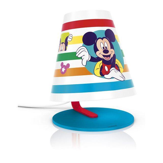 Vintage Philips Lampe de table Disney Mickey
