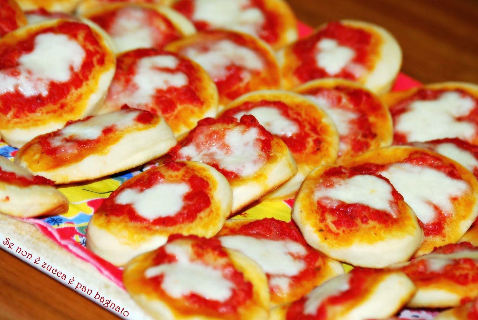 Se non è zucca è pan bagnato: Pizzette da buffet con lievito madre