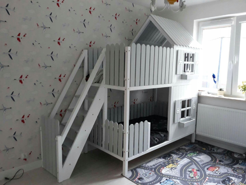 łóżko Piętrowe Domek Dreambeds In 2019 Bed Toddler Bed