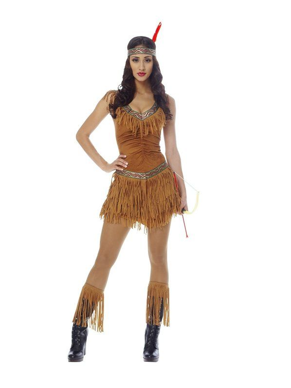 eac368ce401 Check out Sexy Native American Indian Maiden Costume - Indian Adult Costumes  from Wholesale Halloween Costumes