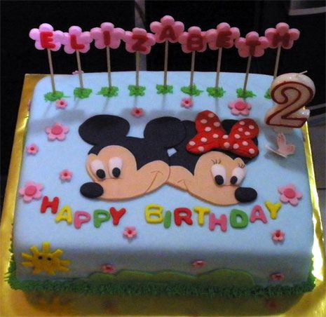 pictures of mickey mouse birthday cakes More minnie and mickey