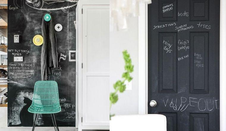 10x creatief met schoolbordverf in huis