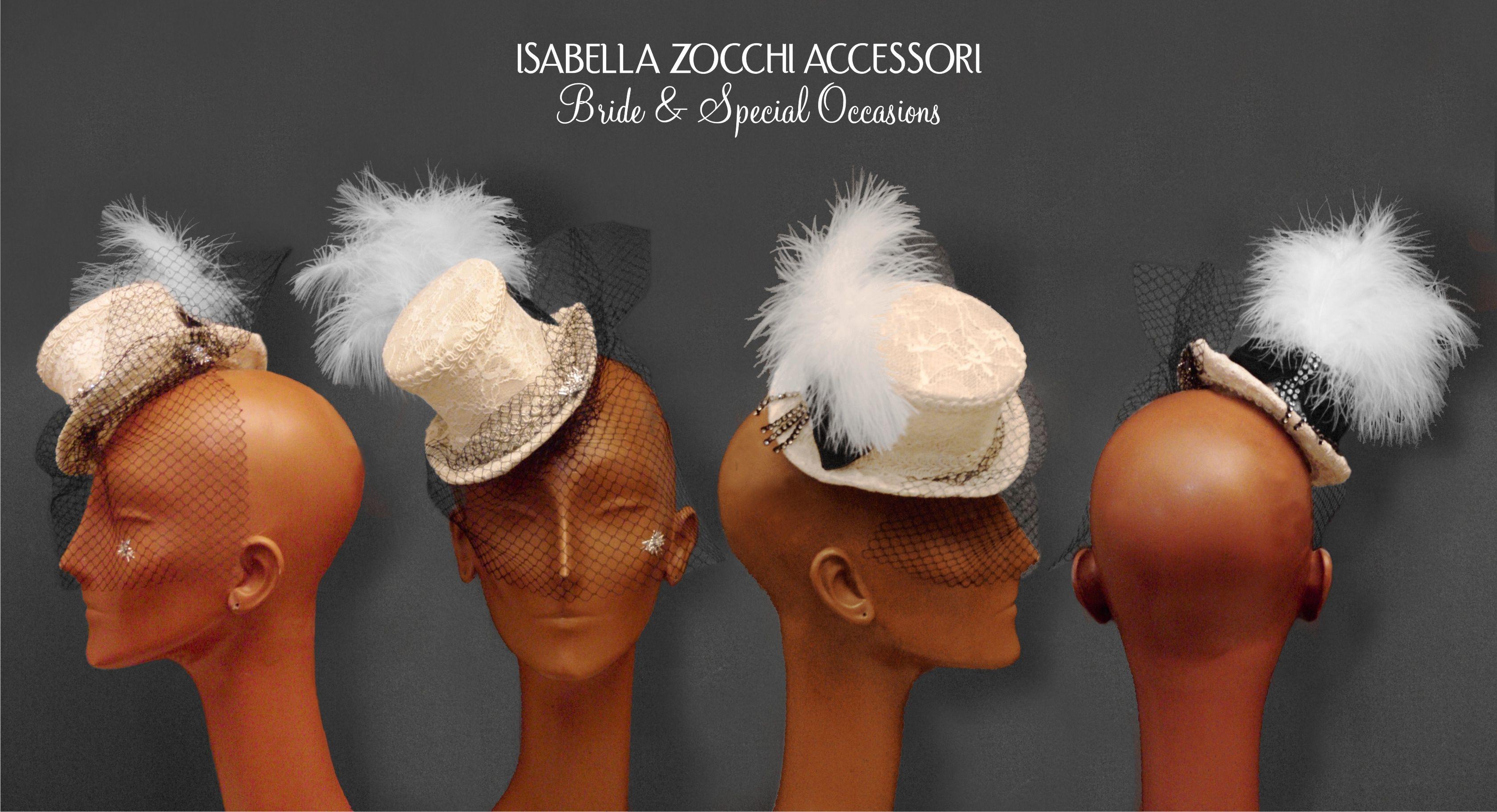 mini burlesque gothic hat - cappellino per burlesque