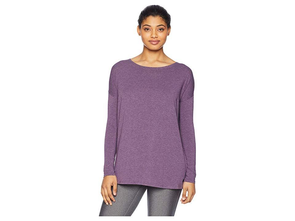 1446f614a1734e tasc Performance Balance Loose Fit Long Sleeve Top (Eclipse Heather) Women's  Clothing. Perfect