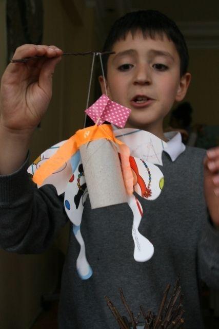 "34d²w project ""toilet-paper-roll-lanterns!!!"""