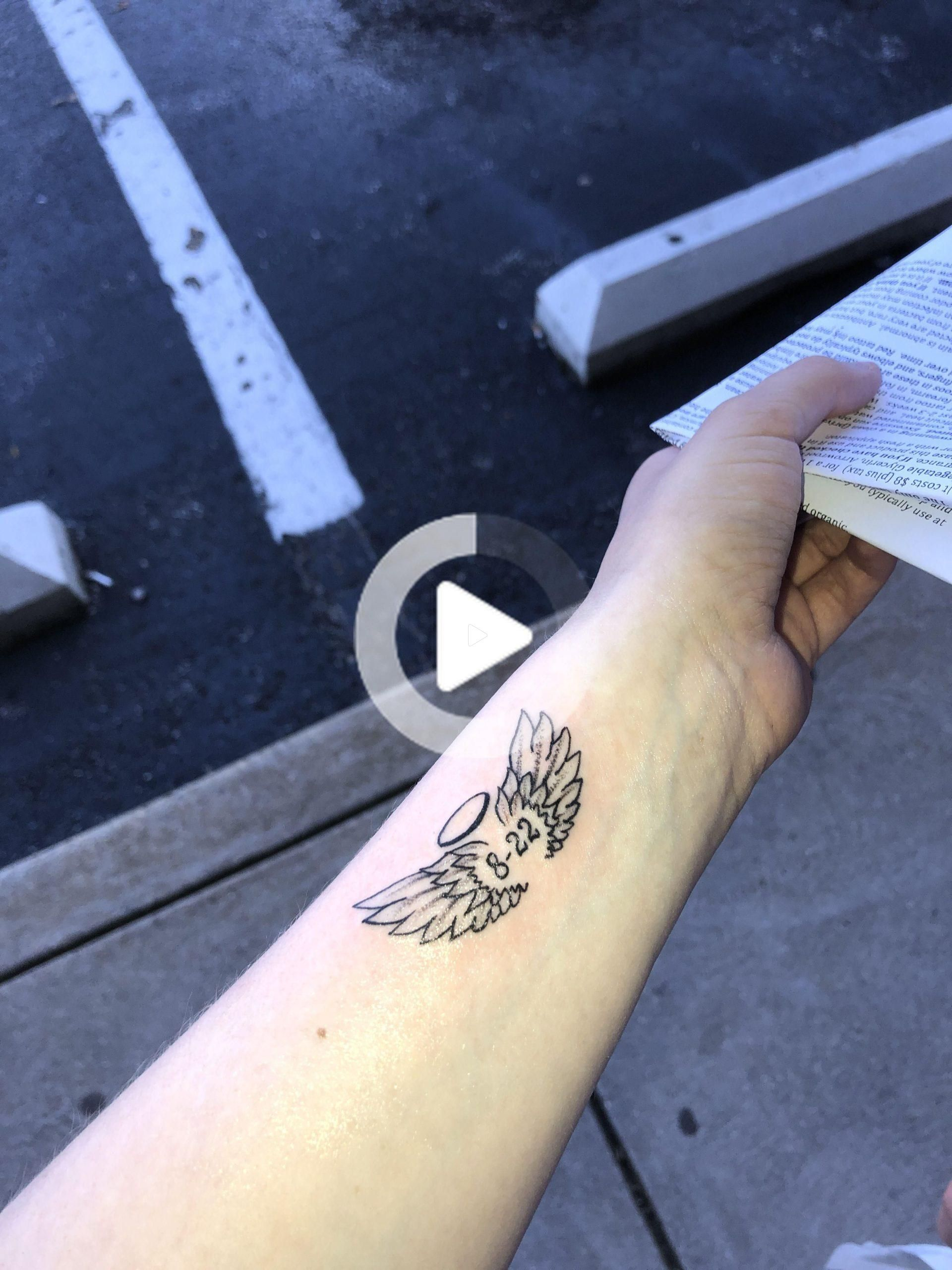 Pequeno Tatuaje De Alas De Angel Tatuajes De Alas De Angel Tatuajes De Alas Pequenos Tatuajes De Alas