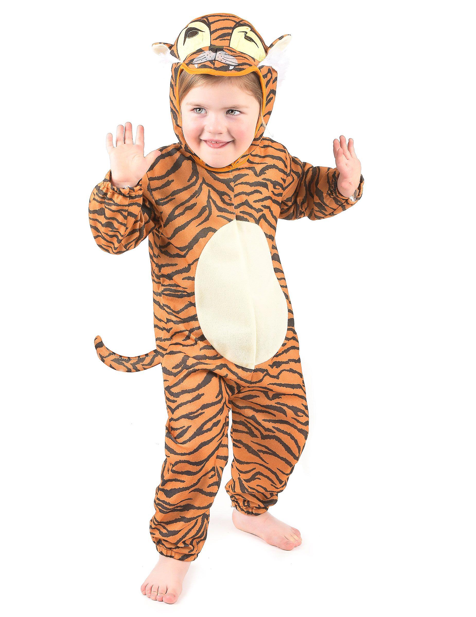 f7df89998 Disfraz de tigre para niño o niña  Disfraz de tigre para niño o niña  compuesto por  una combinación atigrada con círculo blanco en el vientre   ...