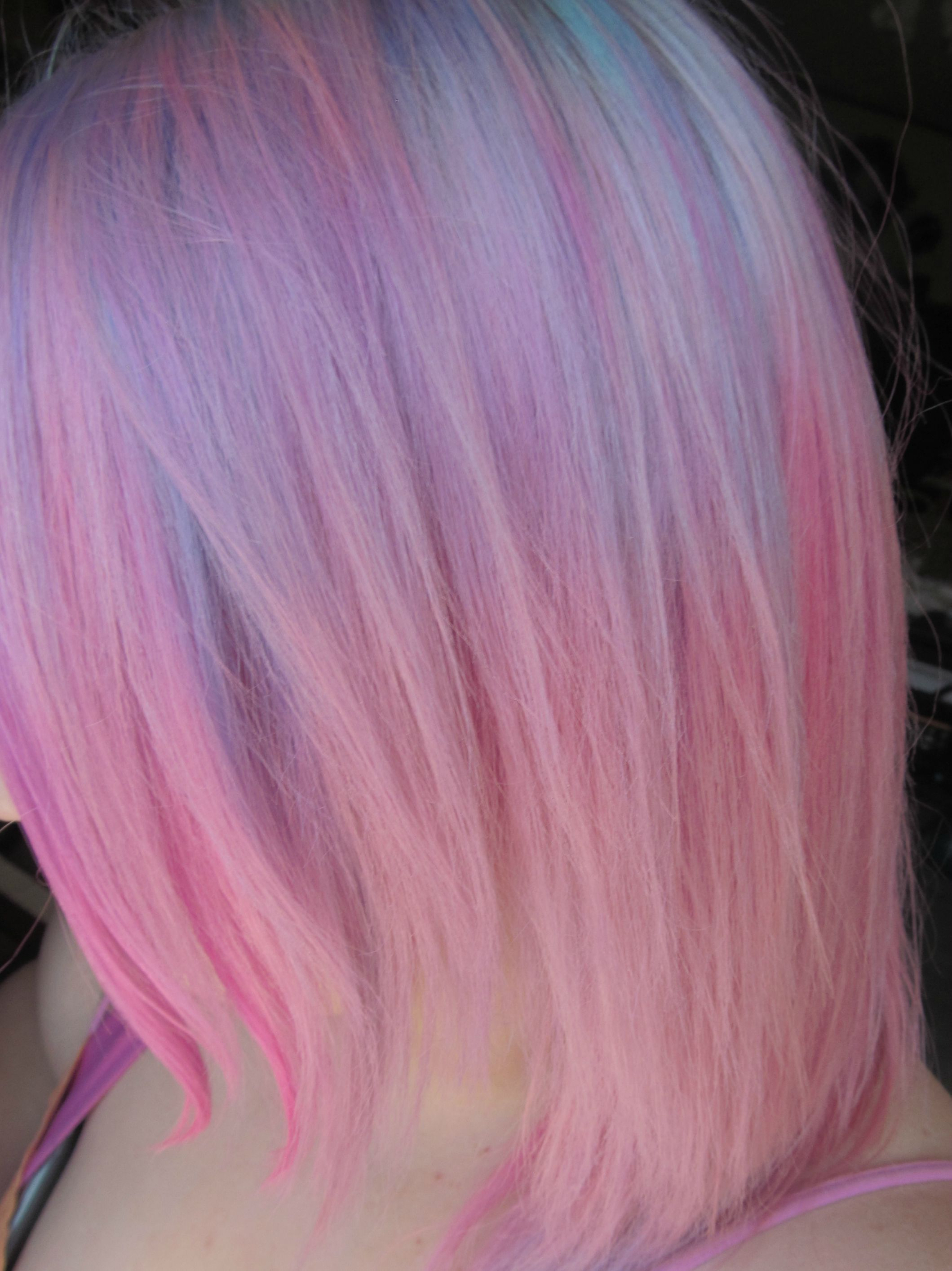 Pravana And Sfx Pastel Pink Hair