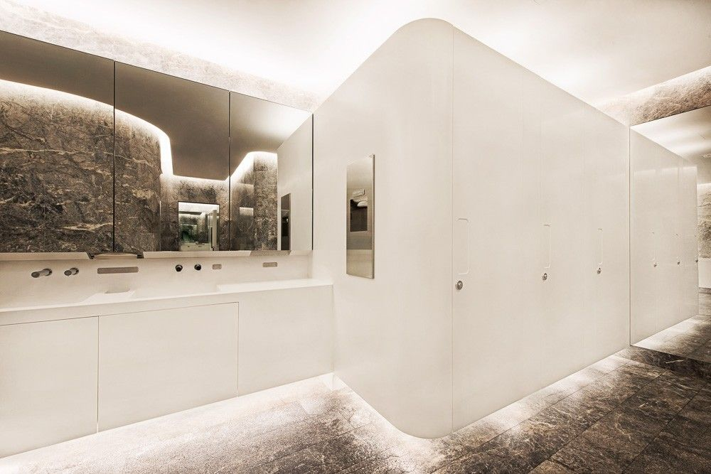 Pin On Award Winning Commercial Restroom Design At The Ifc Tower In Hong Kong Design By Sean Dix