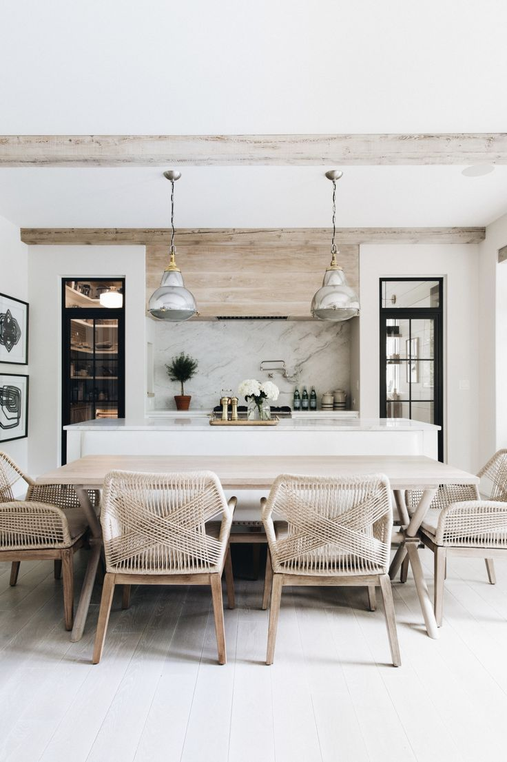 Blonde Wood How To Use It Everywhere Modern Country Kitchens