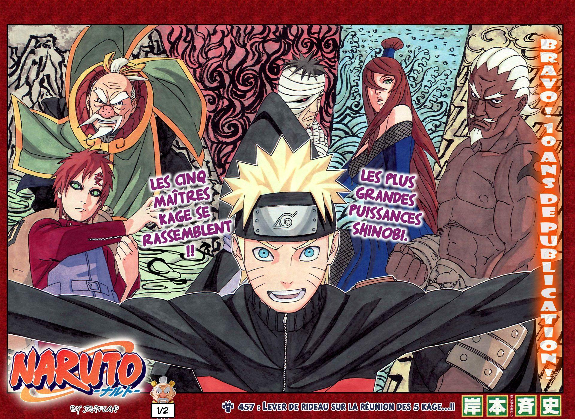 Scan Naruto 457 VF page 1 Naruto, Manga naruto, Animé