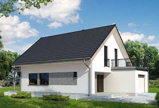 Fachadas De Casas De Dos Pisos Con Techo A Dos Aguas House Styles Barn Design House