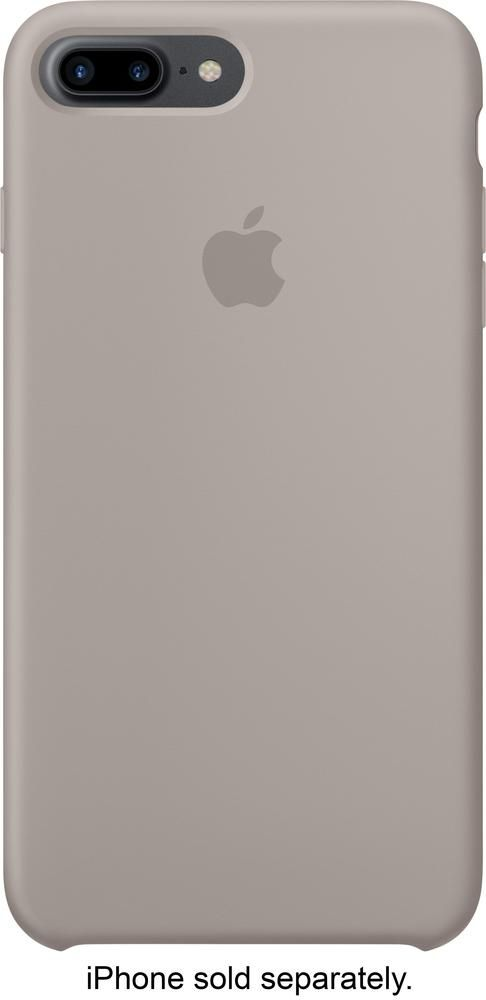 Best Buy Apple Iphone 7 Plus Silicone Case Pebble Mq0p2zm A Iphone Leather Case Iphone Unicorn Iphone Case