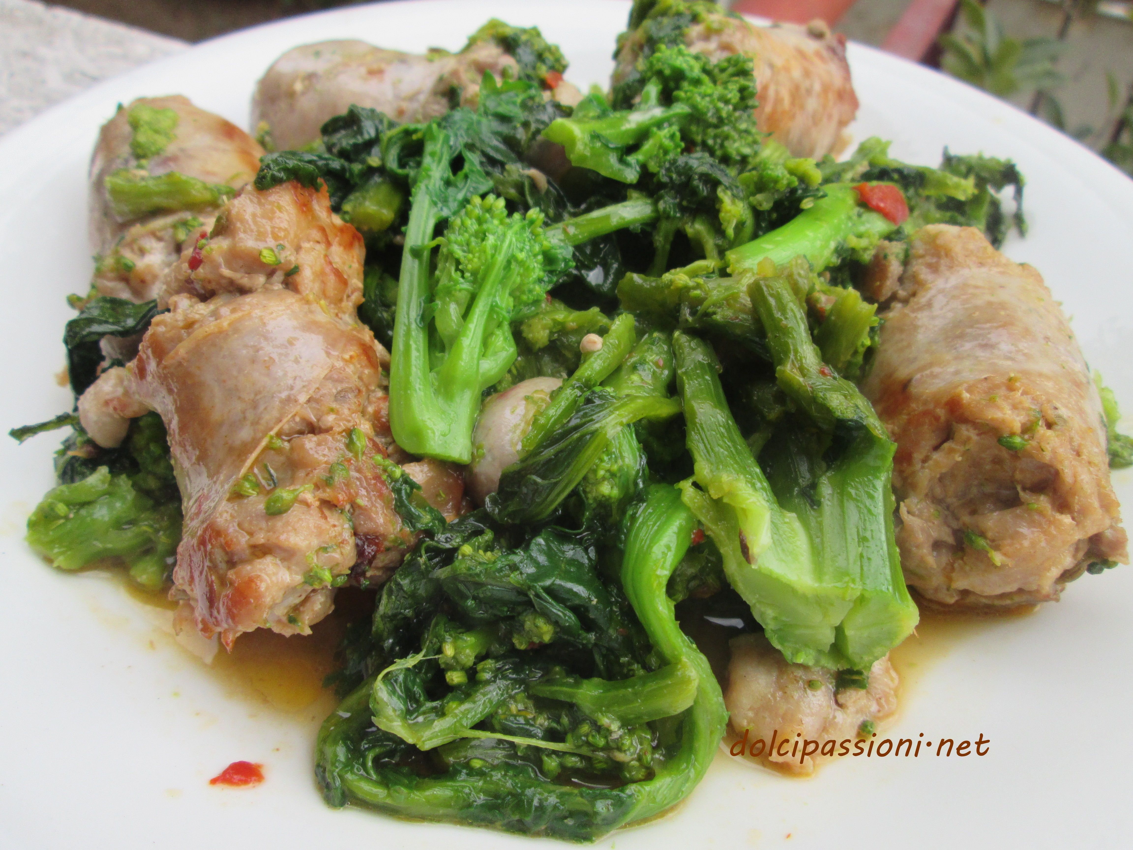 Photo of Turnip greens stewed with sausage are a second dish …