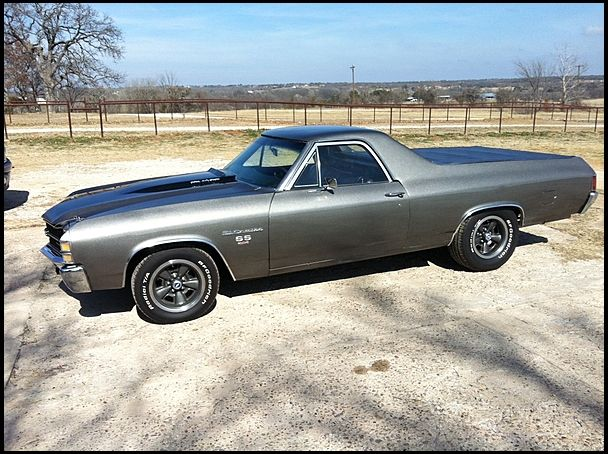 1971 Chevrolet El Camino SS 454 CI, Automatic presented as lot T62 at Houston, TX 2014 - image5