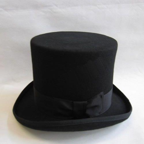 7510613062a37 Men Women Black Wool Dress High Jazz Pork Pie Hats Hat SKU-159037 ...