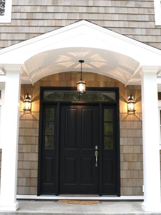 Spectacular Entry Details Door Lighting Curved