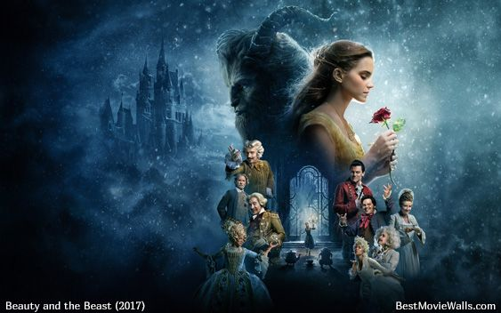 Disney Beauty And The Beast 2017 Wallpapers Hd With Characters Belle Gaston Plumette Lumiere Cadenza Mrs Potts Widescreen Dualscreen Phone