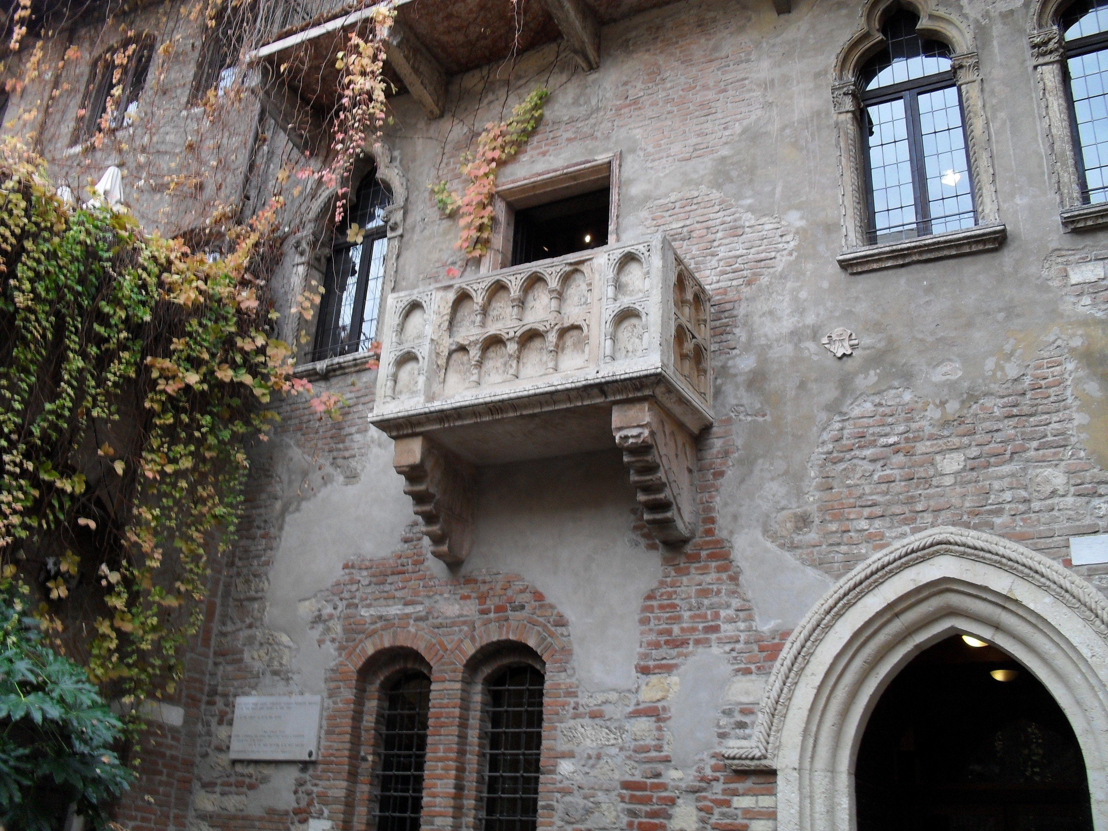 Verona casa di giulietta Verona, Balconi, Case