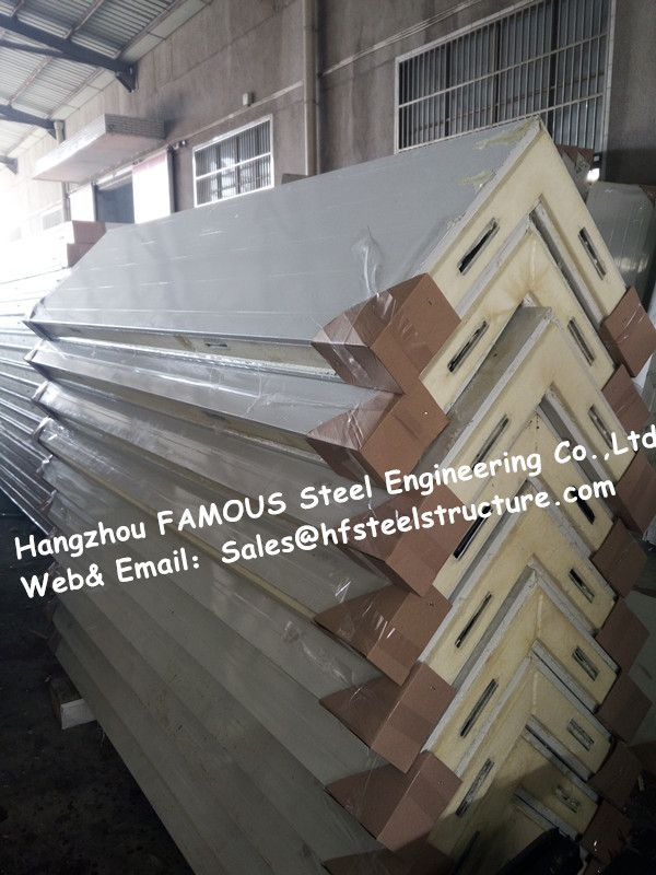 Fireproof Cold Room Panel And Insulated PU Sandwich Panels