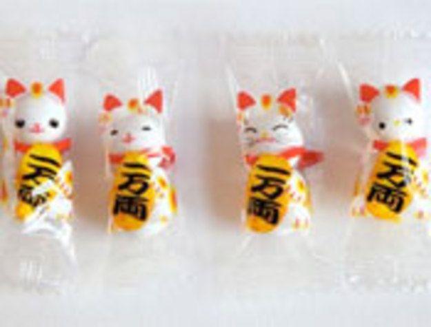 Lucky Cat Gum Ball Package Design Creative Packaging Design Packaging Design Lucky Cat